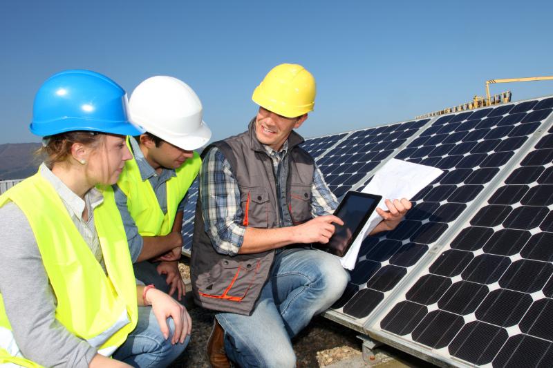bijfoto opleiding energiebeheer zonnepanelen 2