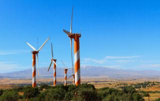Het energielandschap in Israël